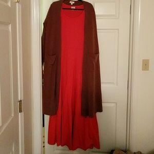 Coral Ana dress XL